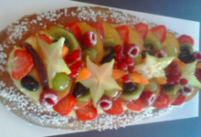 Jeux de pains, fougasse aux fruits