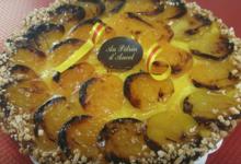 Au Pétrin d'Ancel, tarte abricots