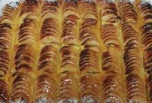 Au Pétrin d'Ancel, plaque de pommes