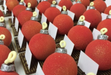 Pâtisserie Alban Guilmet, boules de Noël