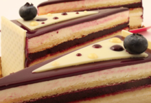 Pâtisserie Alban Guilmet, Cheesecake cassis