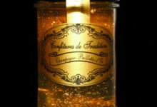 Confitures de tradition, gelée de champagne or