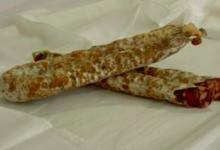 Charcuterie Rouch, Saucisse sèche de foie