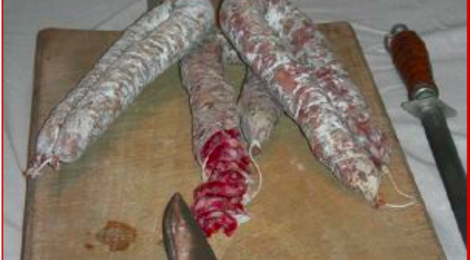 Charcuterie Rouch, Saucisse sèche