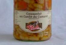 Charcuterie Rouch, Cassoulet au Confit de Canard Cuisses