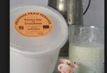 La Ferme Biologique De Crozefond, fromage frais fermier