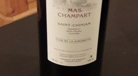 Le mas Champart, Saint-Chinian Rouge Clos de la Simonette