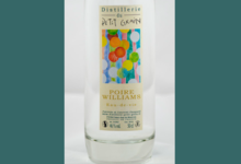 Distillerie du Petit grain, eau de vie poire williams