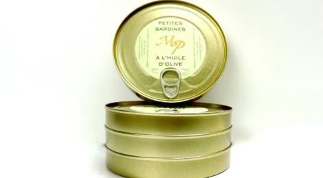 Moulin Saint Pierre, sardines à l'huile d'olive
