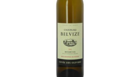 Château Belvize, cuvée des oliviers blanc Minervois