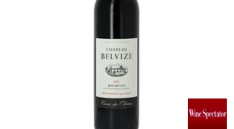 Château Belvize, cuvée des oliviers rouge Minervois
