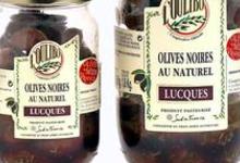 Coopérative de l'Oulibo, Olives Noires au Naturel - Lucques
