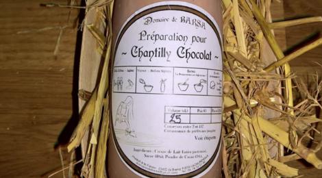 Domaine de Barsa, préparation pour Chantilly  chocolat