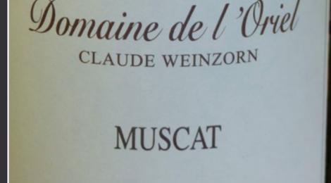 Domaine de l'Oriel Muscat Alsace