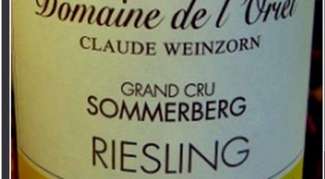 Domaine de l'Oriel Riesling Sommerberg