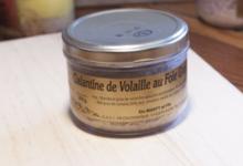 GAEC de caudemique. Galantine de volaille au foie gras