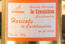 Le Coustelous , Haricots lingots cuisinés