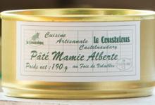 """Le Coustelous , Pâté foie de volailles 33% """"Mamie Alberte"""""""
