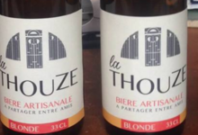 Brasserie La Romaine du Thou. La Thouze blonde