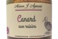 Conserverie Aymeric. Canard aux raisins