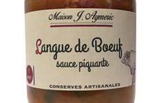Conserverie Aymeric. Langue de boeuf sauce piquante