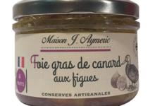 Conserverie Aymeric. Foie gras de canard entier aux figues