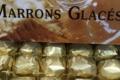 Les berlingots de Pézenas. Confiserie Boudet. marrons glacés