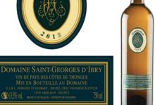 Domaine Saint-Georges d'Ibry. Chardonnay fût