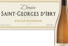 Domaine Saint-Georges d'Ibry. Folle sagesse