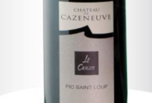 Chateau de Cazeneuve. Le Causse rouge