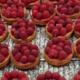 Boulangerie, Pâtisserie Le Dôme. Tartelettes framboises fraîches