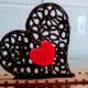 Chocolaterie Védasienne. Coeur en chocolat