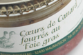 Domaine Sergent. Coeurs de canard fourrés de foie gras