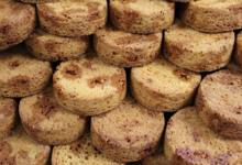 Carré Ronds. Palets aux éclats de caramel au beurre salé