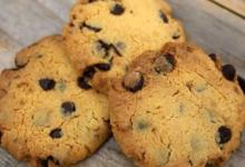 Carré Ronds. Cookies coco chocolat , sans gluten