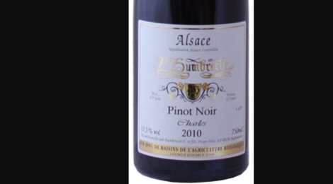 Domaine Paul Humbrecht. Pinot-Noir Charles Vieilli en fût de chêne