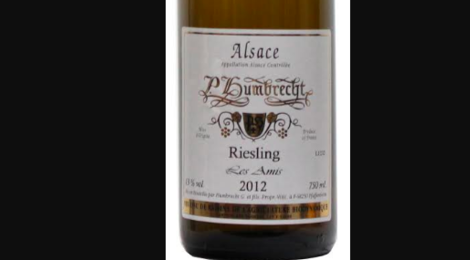 Domaine Paul Humbrecht. Riesling Les Amis