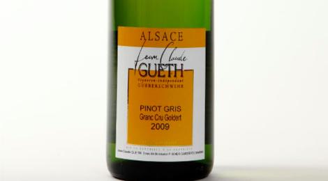 Domaine Gueth Jean Claude. Pinot Gris grand cru Goldert