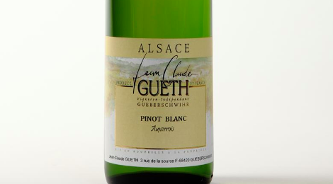 Domaine Gueth Jean Claude. Pinot Blanc Auxerrois