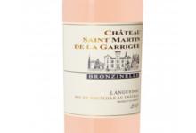 Château Saint Martin de la Garrigue. Cuvée Bronzinelle Rosé