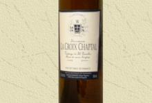 Domaine La Croix Chaptal. Vin blanc d'octobre