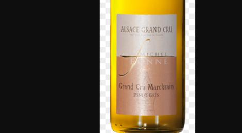 Michel Fonné. Pinot gris grand cru Marckrain