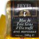 Feyel. Bloc de Foie Gras d'Oie 30% morceaux truffé à 3% en pain