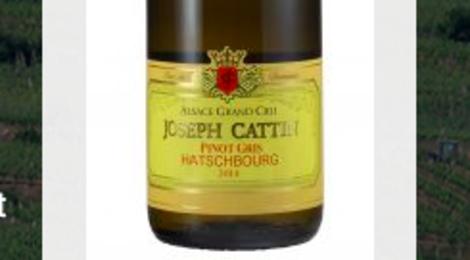 oseph Cattin. Pinot gris grand cru Hatschbourg