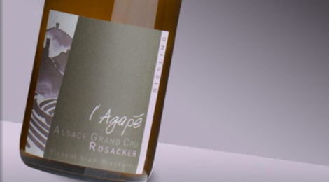 Domaine Agapé. Riesling Rosacker