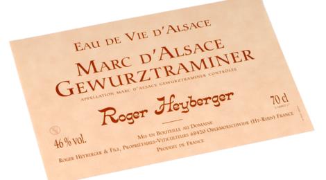 Roger Heyberger Et Fils. Eaux de vie aux fruits d'alsace