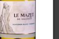 Domaine de Nizas. Le Mazet de Sallèles Blanc