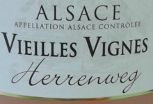 Domaine Meyer Alphonse Et Fils. Riesling Vieilles Vignes Herrenweg