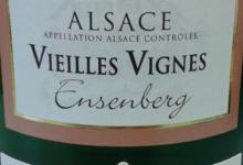 Domaine Meyer Alphonse Et Fils. Pinot gris Vieilles Vignes Ensenberg