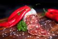 Saucisson sec pur porc au piment d'espelette
